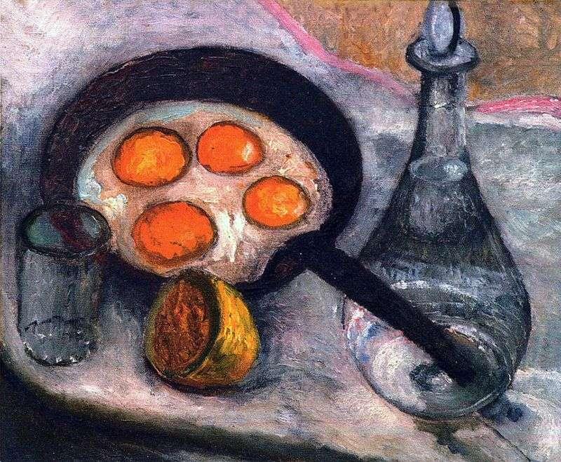 Натюрморт з яєчнею   Паула Модерзон Беккер