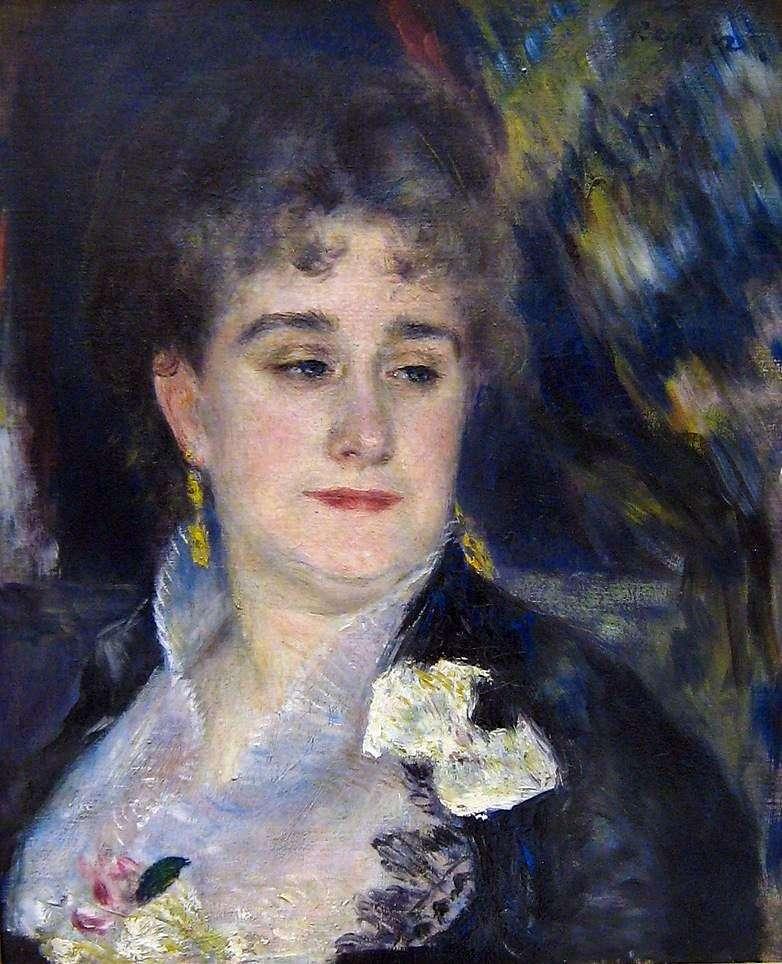 Портрет мадам Шарпантьє   Пєр Огюст Ренуар
