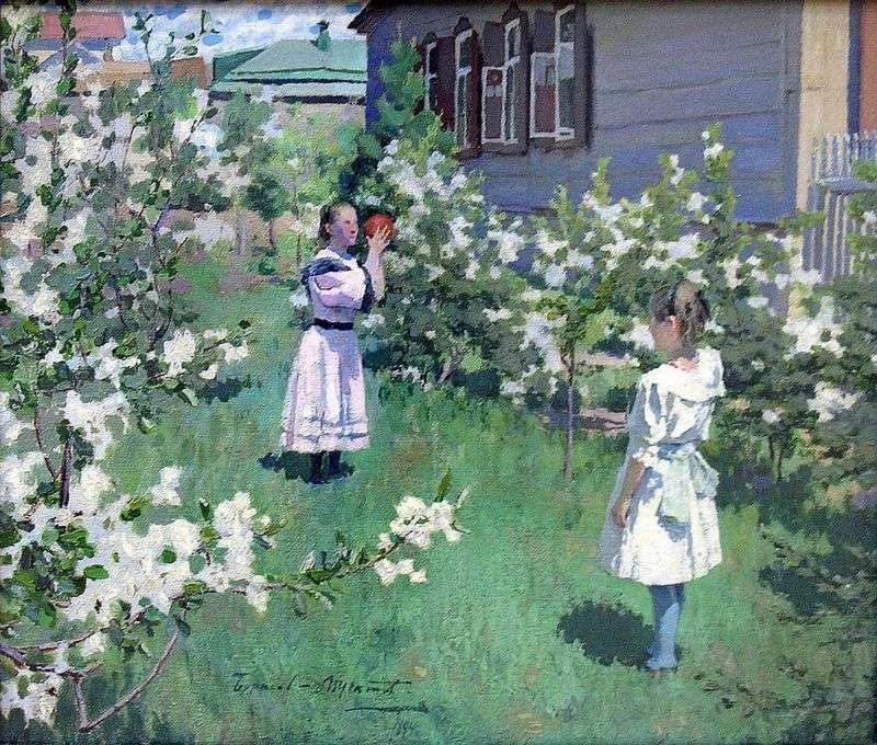 Травневі квіти   Віктор Борисов Мусатов