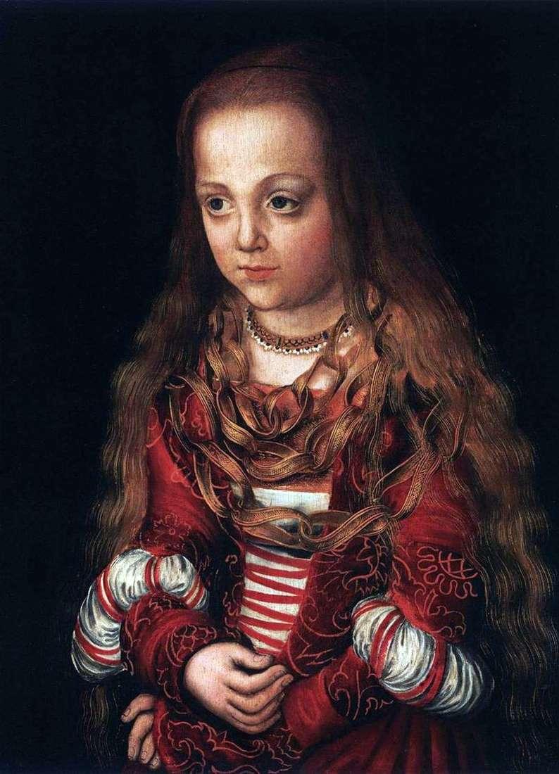 Портрети принца і принцеси   Лукас Кранах