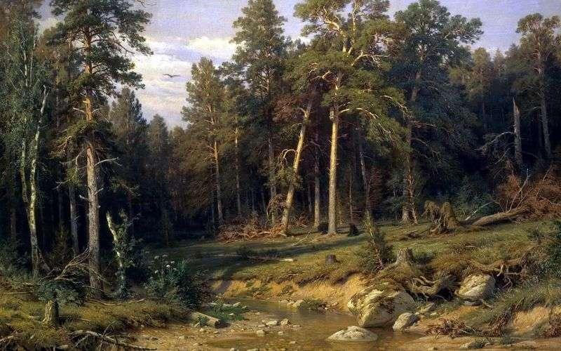 Сосновий бір. Щогловий ліс в Вятської губернії   Іван Шишкін