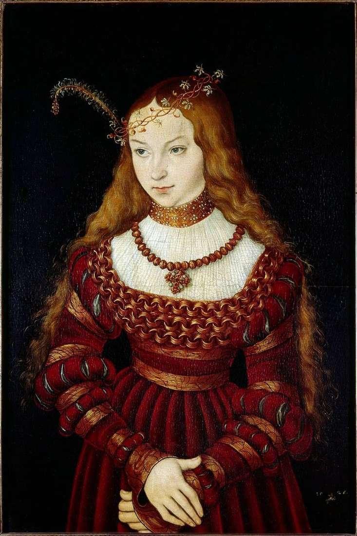 Принцеса Сибілла Клевська   Лукас Кранах