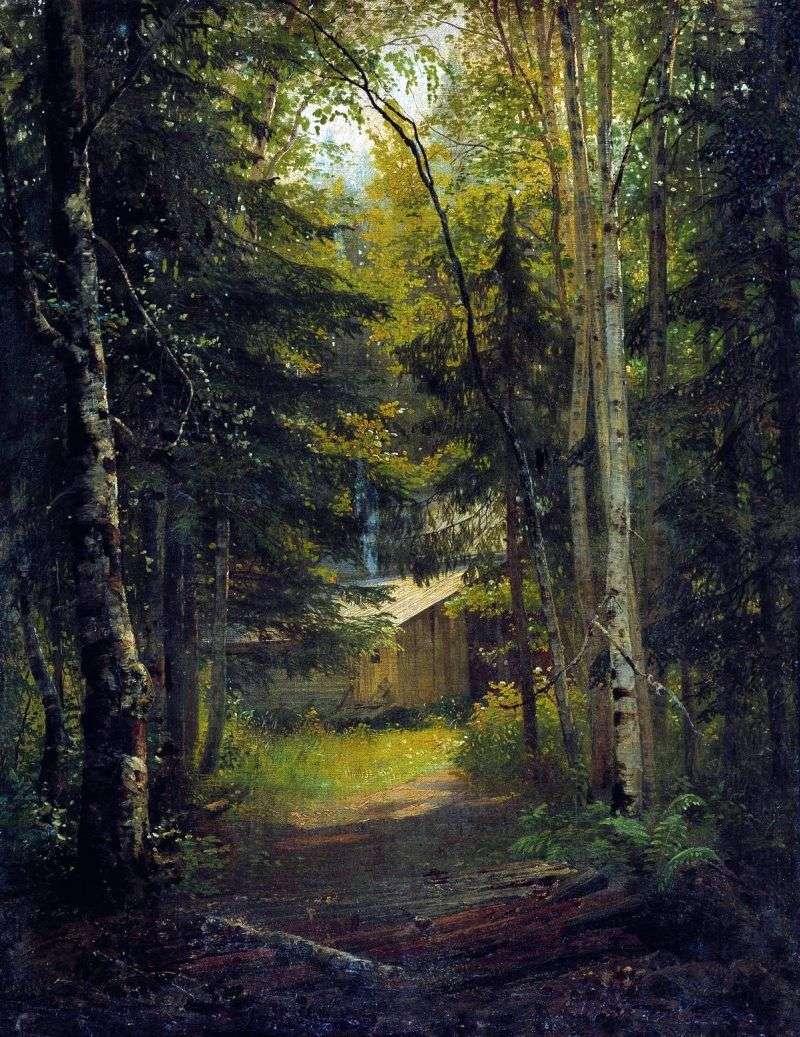 Сторожка в лісі   Іван Шишкін