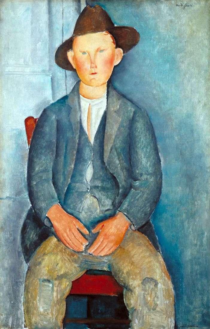 Маленький селянин   Амедео Модільяні