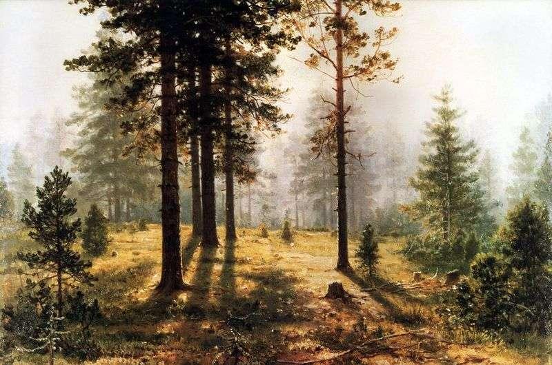 Туман в лісі   Іван Шишкін