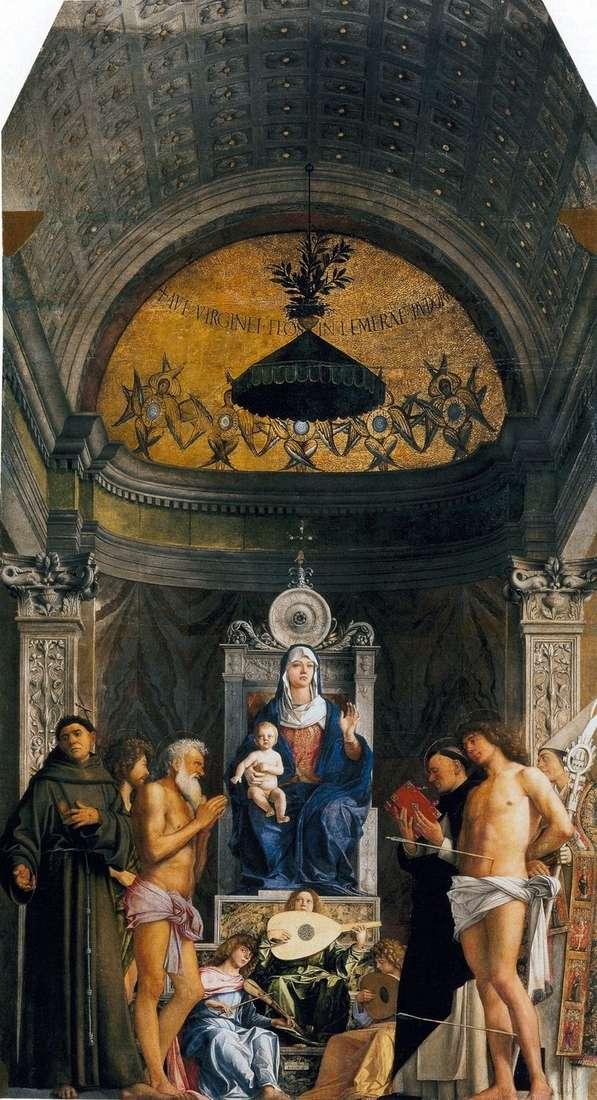 Мадонна зі святими   вівтар Сан Джоббе   Джамбеллино