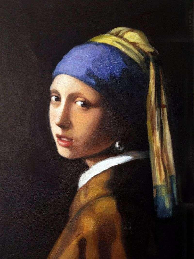 Дівчина з перловою сережкою   Ян Вермеер