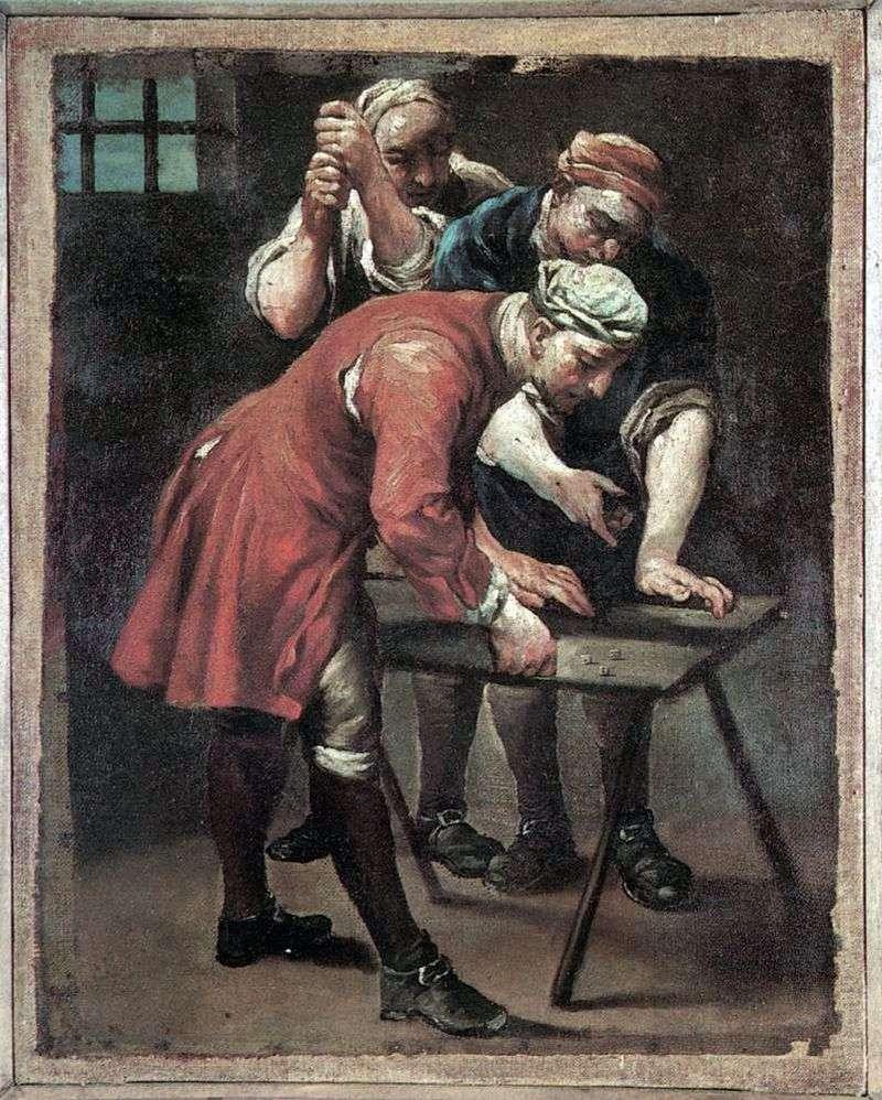 Гравці в кості   Джузеппе Марія Креспі