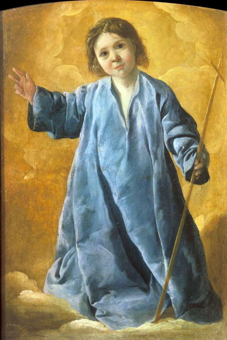 Немовля Христос   Франсиско де Сурбаран