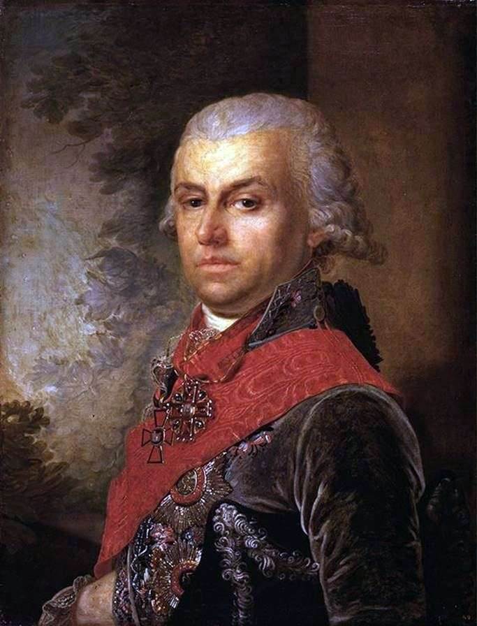Портрет Д. П. Трощинського   Володимир Боровиковський