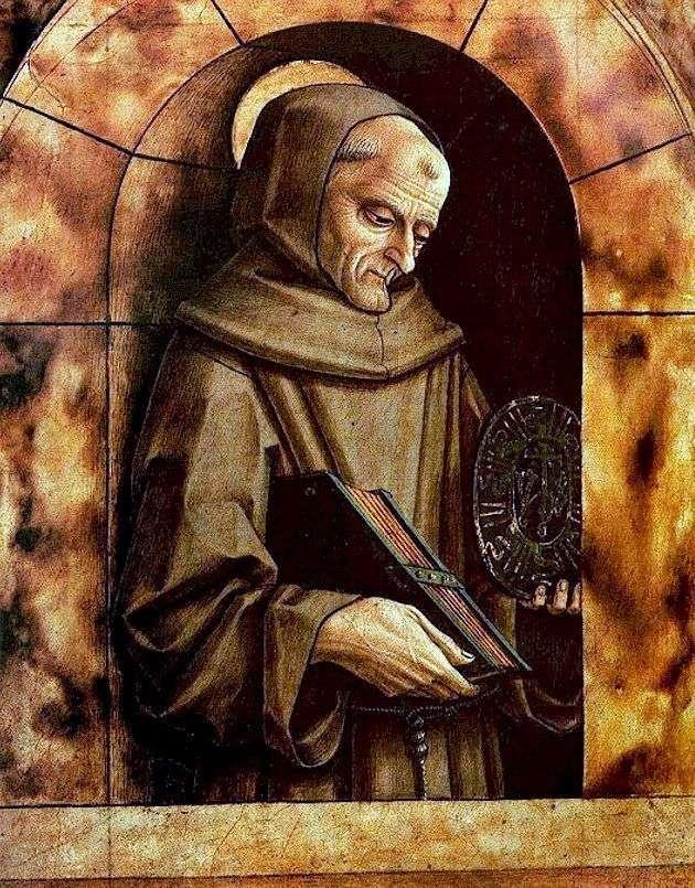 Святий Бернардин Сієнський   Карло Крівеллі