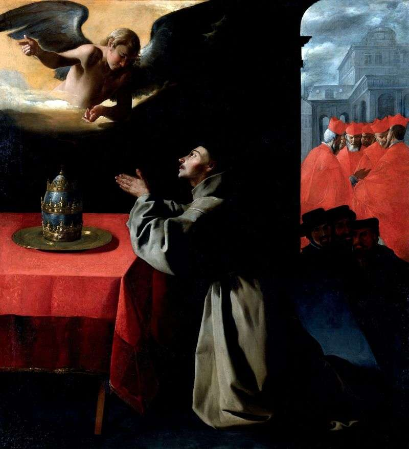 Молитва Святого Бонавентури   Франсиско де Сурбаран