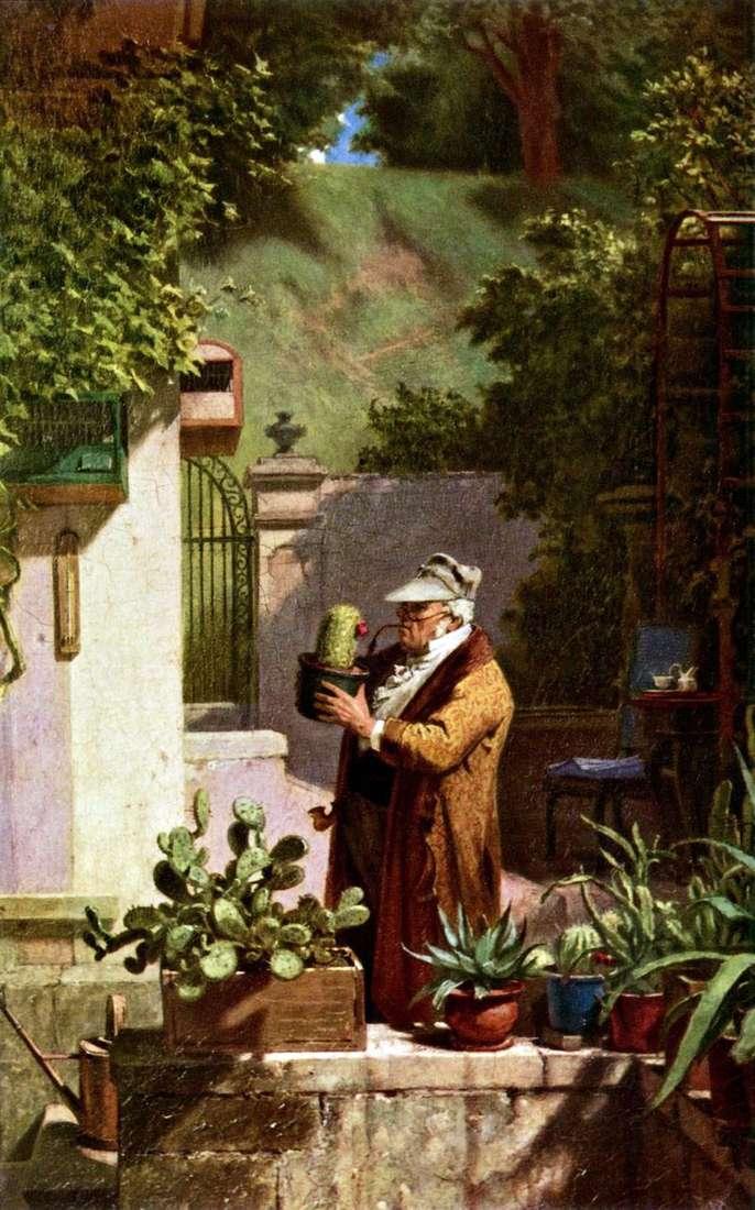 Любитель кактусів   Карл Шпіцвег