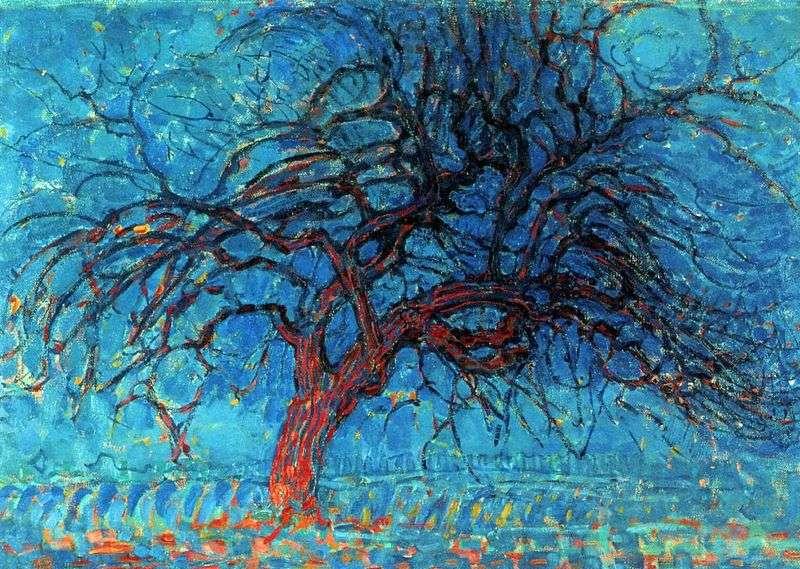 Червоне дерево   Пітер Корнеліс Мондріан
