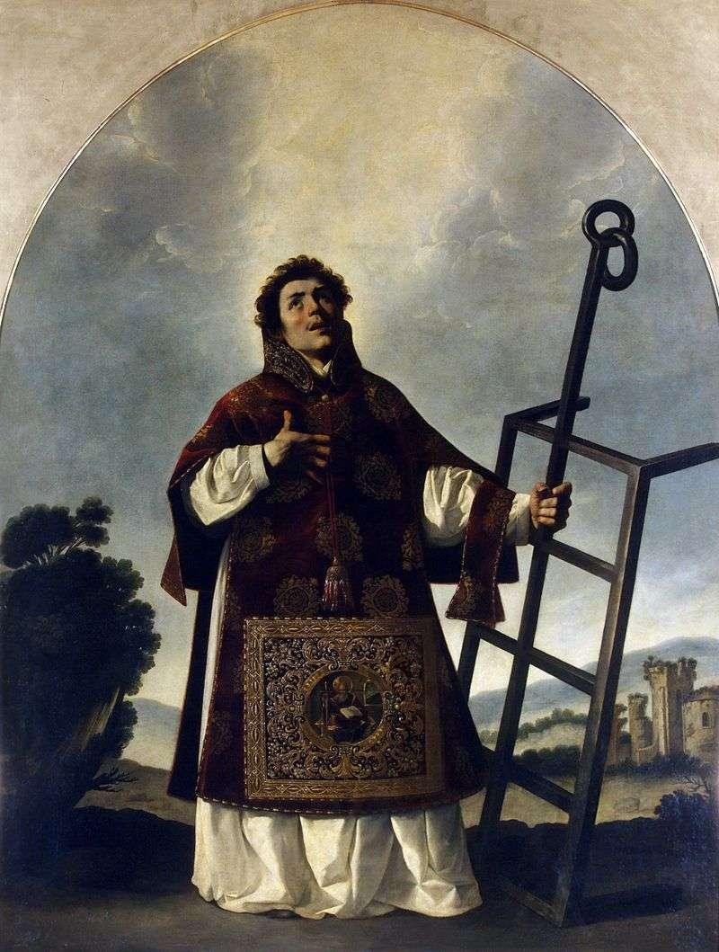 Святий Лаврентій   Франсиско де Сурбаран