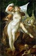 Венера і Адоніс   Бартоломеус Шпрангер