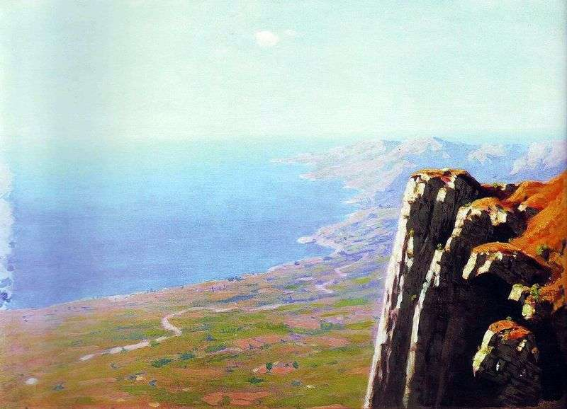Берег моря зі скелею   Архип Куїнджі