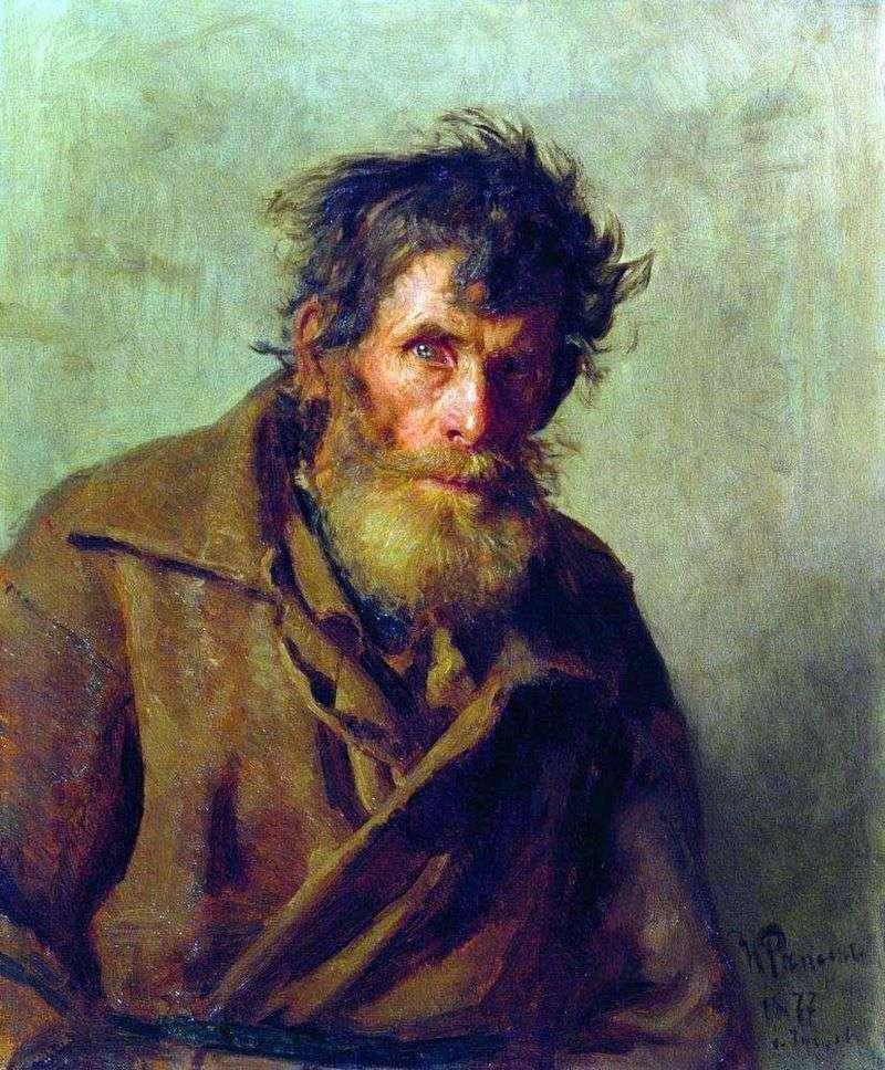 Мужичок з боязких   Ілля Рєпін