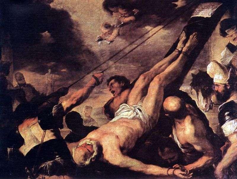 Розпяття святого Петра   Лука Джордано