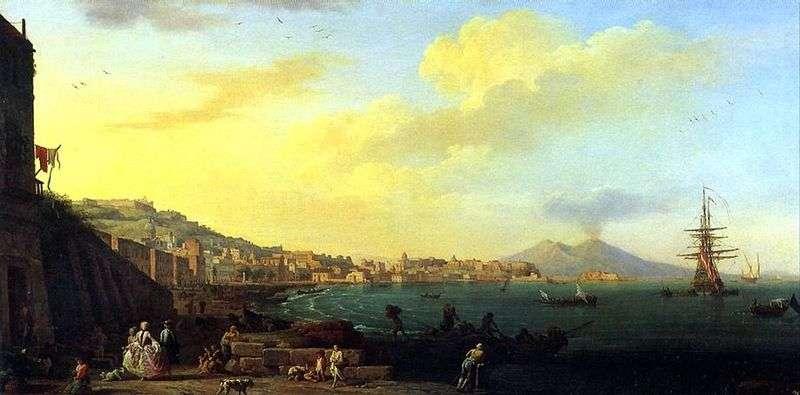 Вид Неаполя з Везувієм   Клод Верне
