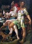 Одіссей і Кірка   Бартоломеус Шпрангер