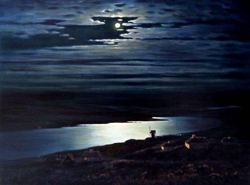 Місячна ніч на Дніпрі   Архип Куїнджі