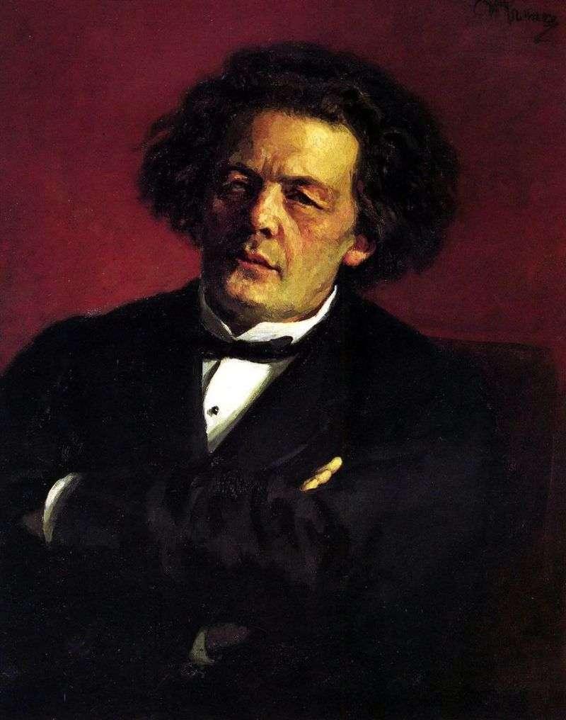 Портрет А. Р. Рубінштейна   Ілля Рєпін