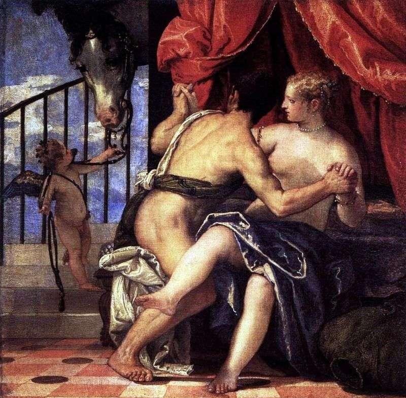 Венера і Марс з Амуром і конем   Паоло Веронезе
