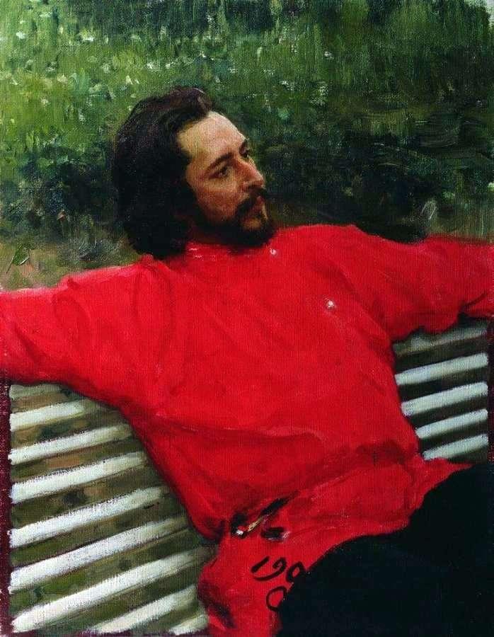 Портрет Андрєєва   Ілля Рєпін