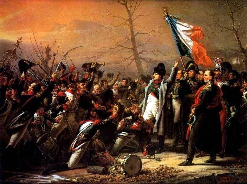 Повернення Наполеона з острова Ельба   Штернберг Василь Іванович