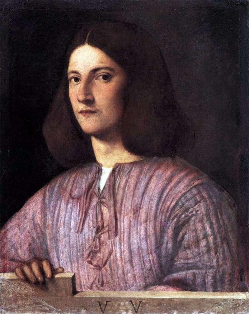 Портрет юнака   Джорджоне