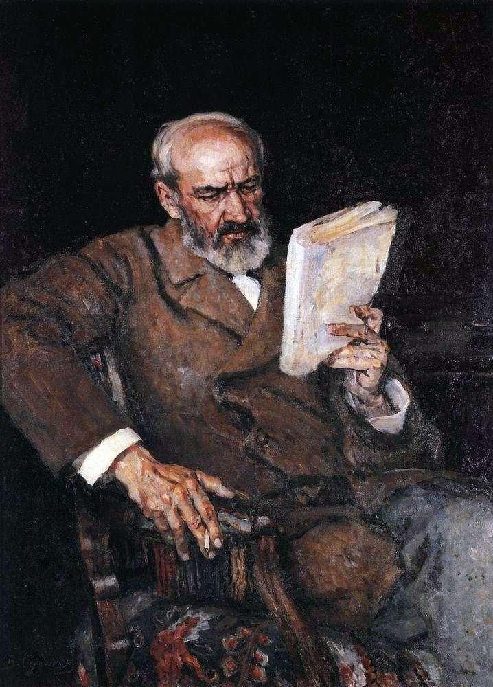 Портрет доктора А. Е. Єзерського   Василь Суріков