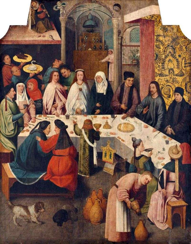 Шлюб в Кані Галілейській   Ієронім Босх