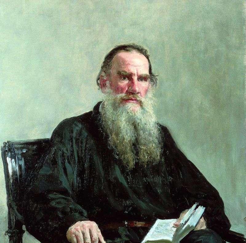 Портрет Л. Н. Толстого   Ілля Рєпін