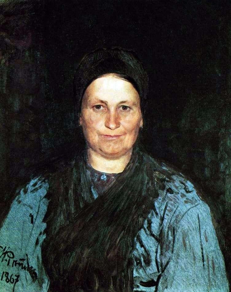 Портрет матері   Ілля Рєпін