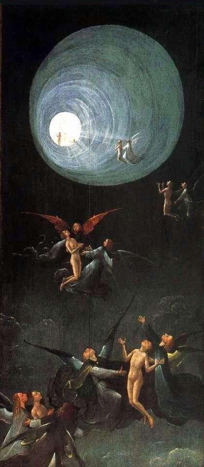 Вознесіння в Емпірей, Бачення потойбічного світу. Частина вівтаря   Ієронім Босх