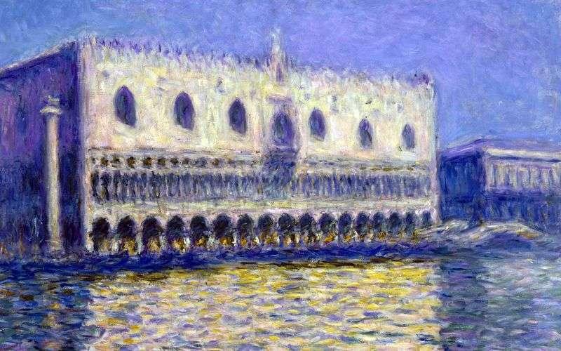 Палац дожів   Клод Моне
