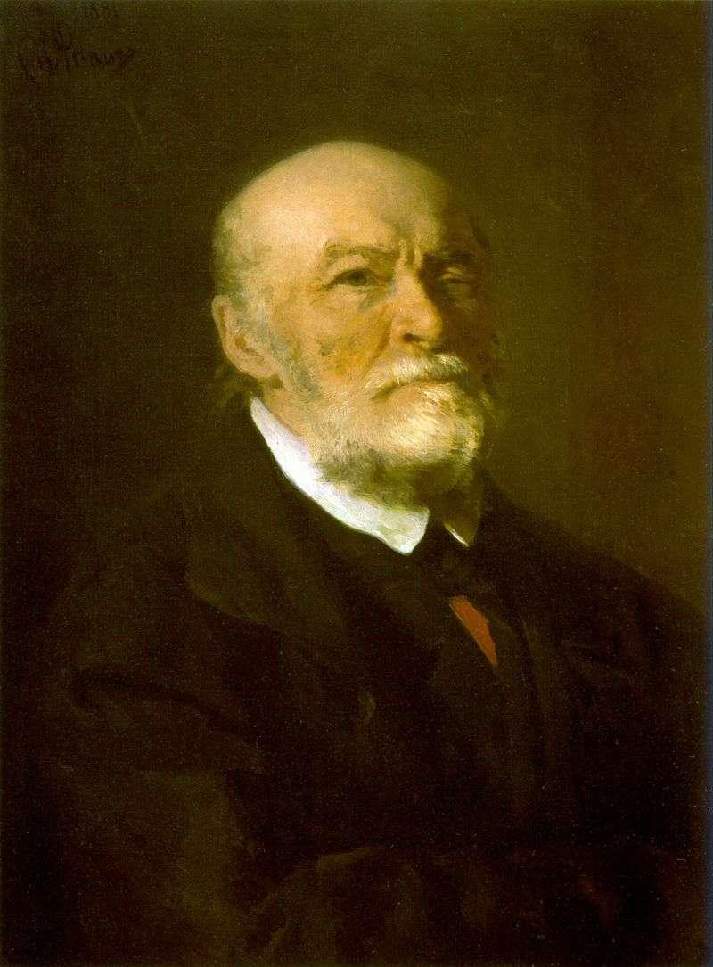 Портрет Н. І. Пирогова   Ілля Рєпін