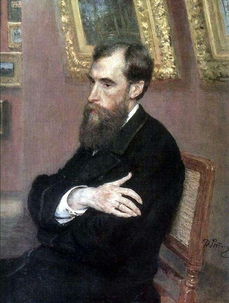 Портрет П. М. Третьякова   Ілля Рєпін