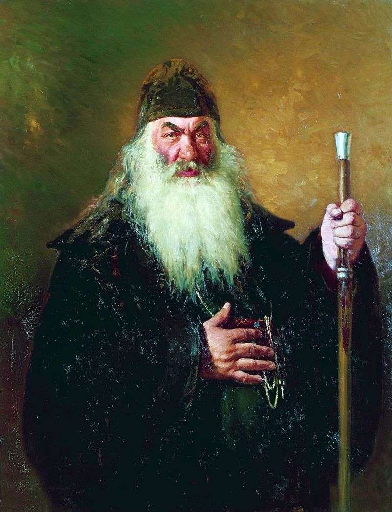 Портрет Протодиякона   Ілля Рєпін