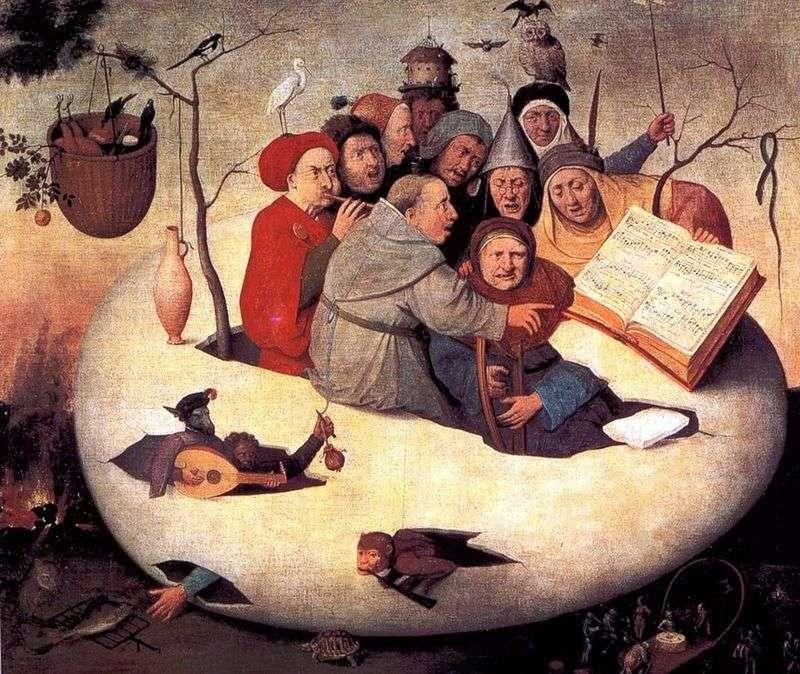 Концерт в яйці   Ієронім Босх