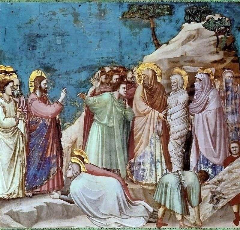 Воскресіння Лазаря   Джотто