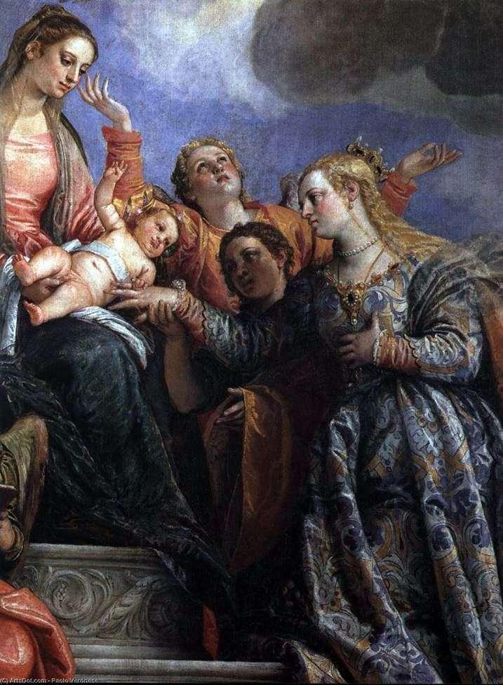 Заручення святої Катерини   Паоло Веронезе