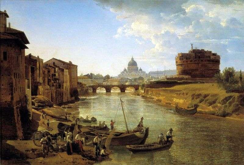 Новий Рим. Замок Святого Ангела   Сильвестр Щедрін