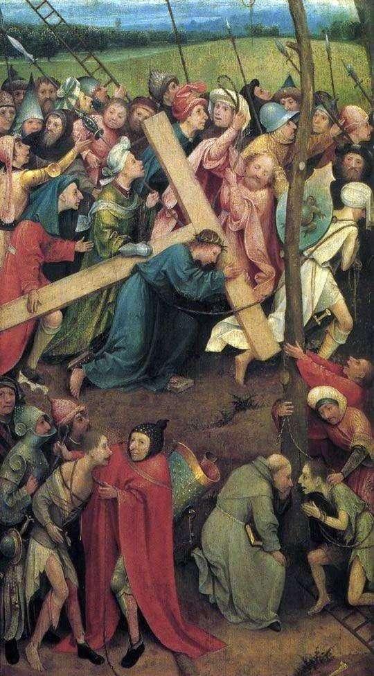 Несення хреста на Голгофу   Ієронім Босх