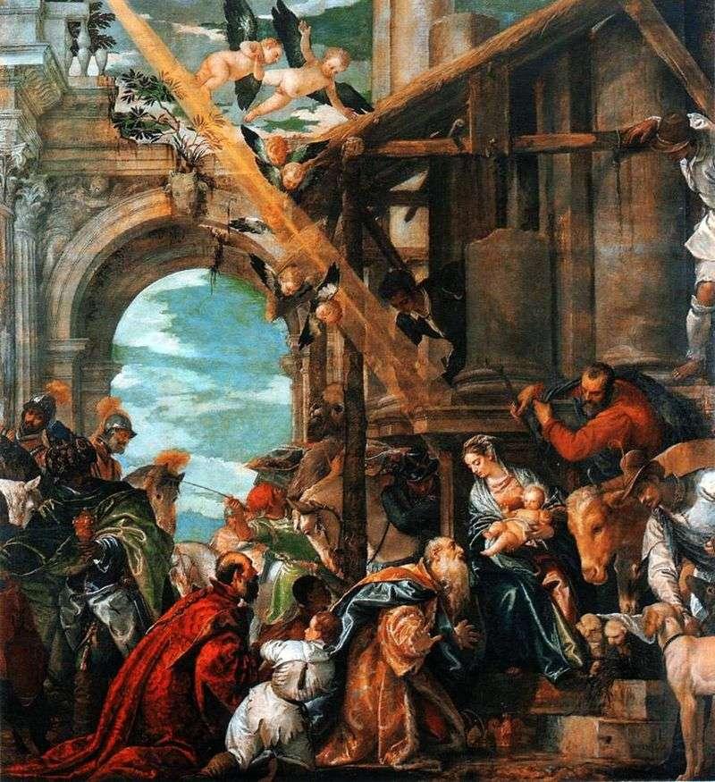 Поклоніння волхвів   Паоло Веронезе