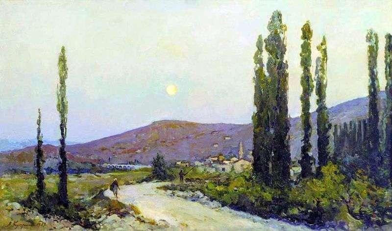 Беасальская долина. Крим   Олександр Купрін