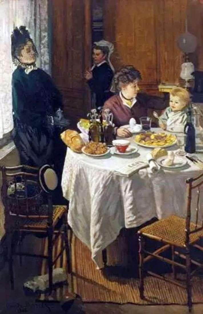 Сніданок   Клод Моне