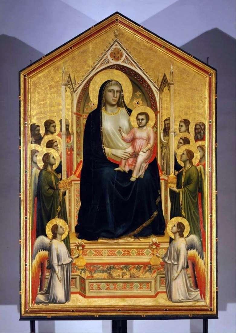 Мадонна з Немовлям і ангелами (Мадонна Оньісанті)   Джотто