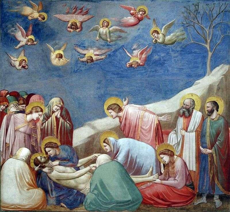 Оплакування Христа Джотто